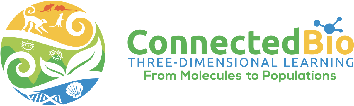 ConnectedBio - Three Dimensional Learning - From Molecules to Populations